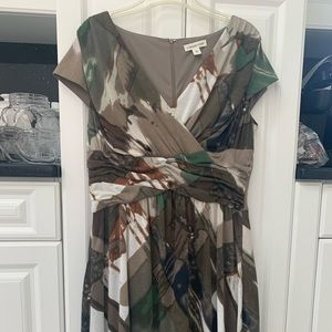 COLDWATER CREEK MULTICOLORED DRESS